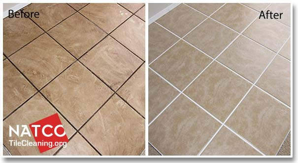 Cleaning Ceramic Tile Floors And Grout - Cleaning grout off porcelain tile