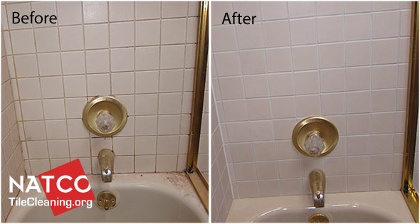 Pin Grout Color Is Hard To Keep Clean With Common Tile Cleaning Products On P