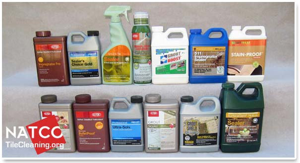 reviewing some common grout sealers