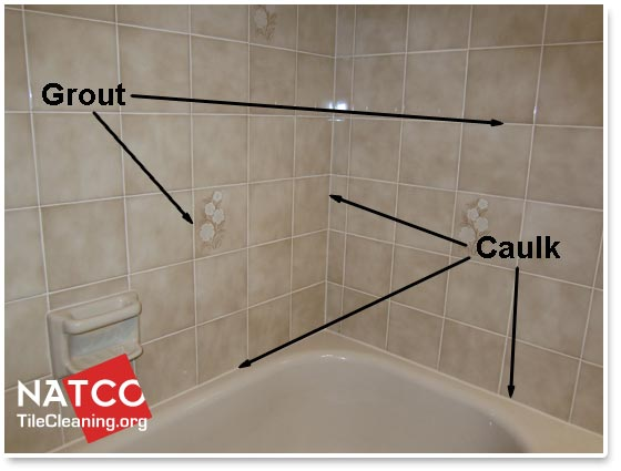 Shower With Grout And Caulk In It