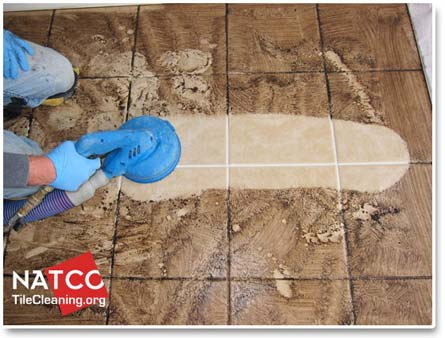 Contractors Steam Clean Tile And Grout