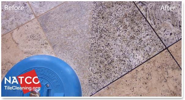 How Professional Contractors Steam Clean Tile And Grout - Clean and reseal grout