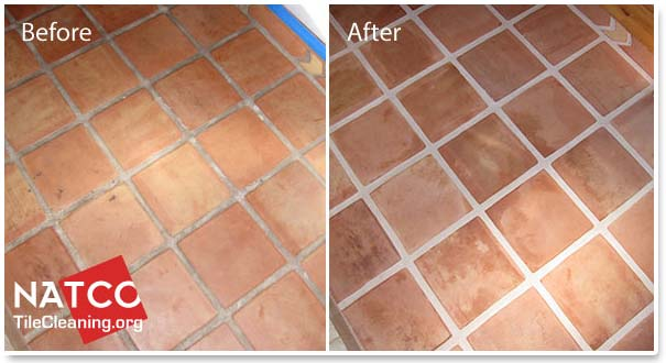 How To Clean A Saltillo Tile Floor - Clean tile floors without residue