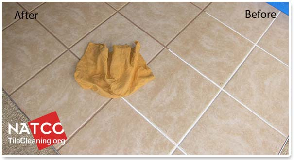 How To Darken The Color Of Grout - Best method to clean tile grout