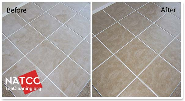 How To Remove Cement Based Grout Haze - Cleaning dust after tile removal