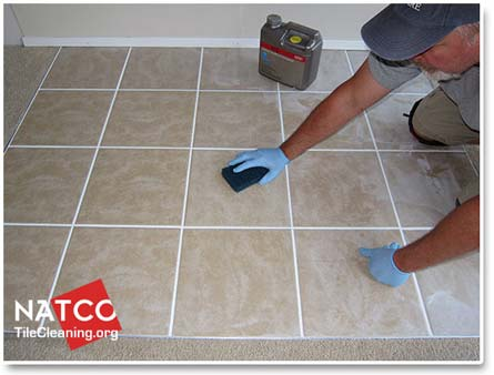 How To Remove Cement Based Grout Haze - Cleaning grout off porcelain tile