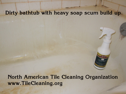 Method Tub + Tile Soap Scum + Stain Remover - Method Tub and Tile