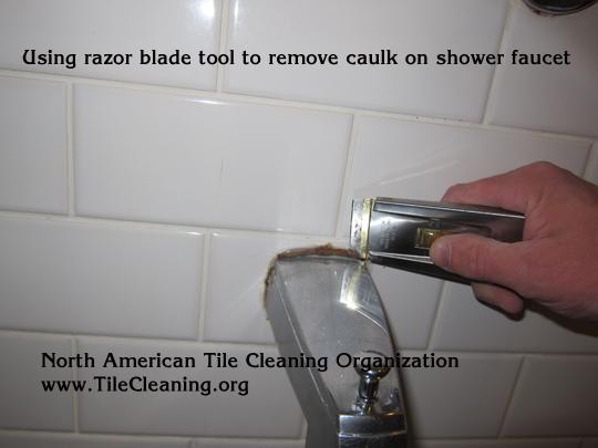 how to clean bathtub faucet