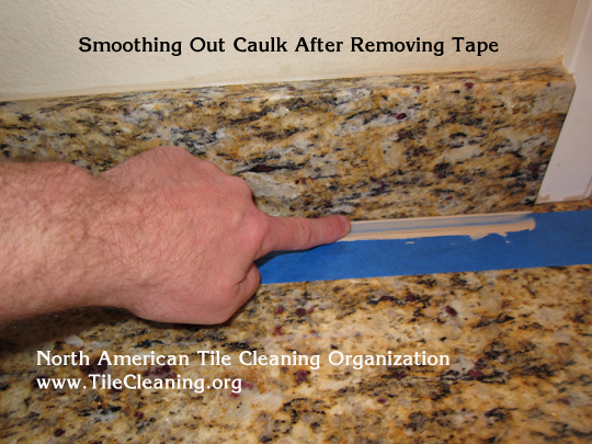 caulk granite countertop