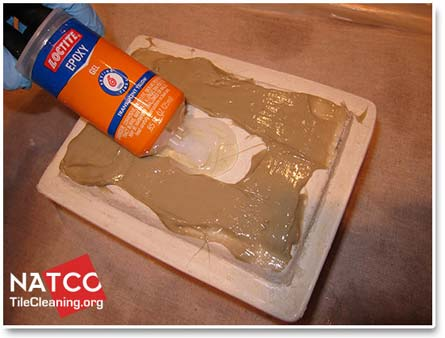 Lying Adhesive To Soap Dish