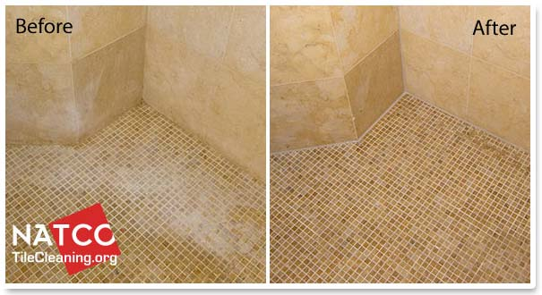 Exceptionnel Cleaning And Restoring Limestone Shower