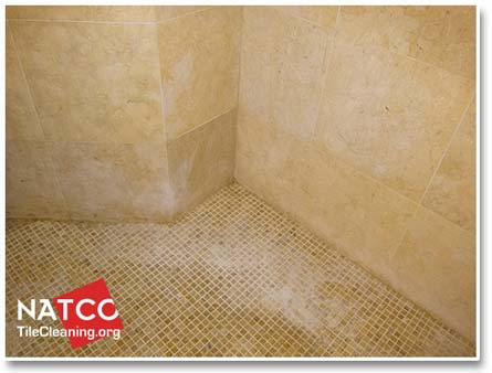 Surprising Cleaning And Removing Soap Scum In A Limestone Shower Interior Design Ideas Helimdqseriescom