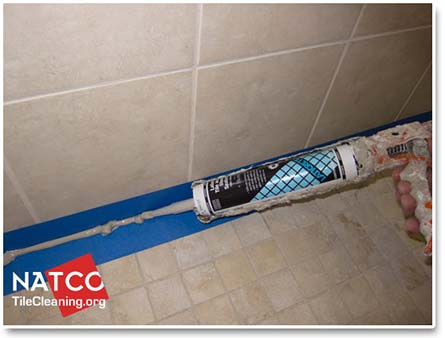 You should apply enough caulk to the shower seams to ensure that the caulk  can get forced deep into the seems of the shower  You want to ensure that  the. How to Professionally Re Caulk a Tile Shower