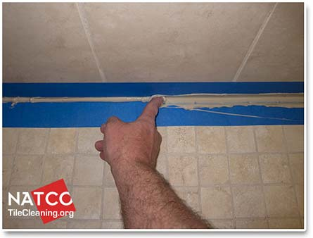 How To Professionally ReCaulk A Tile Shower - Caulking shower base