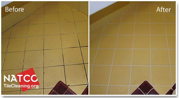 Wonderful Before After Regrouting Tile Countertop