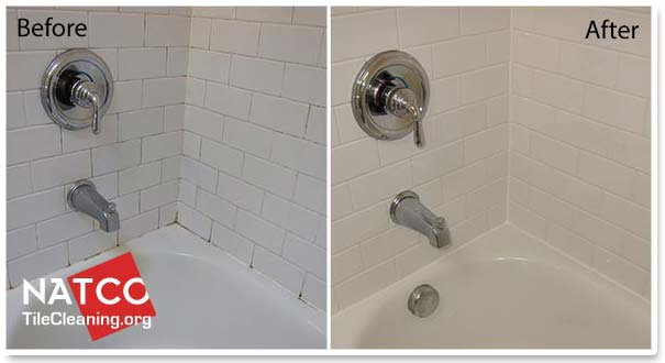 How to remove mold in a tile shower for How to clean bathroom grout mold