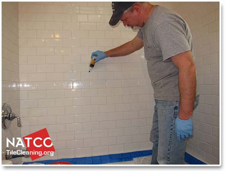 Sealing Shower Grout Part 7