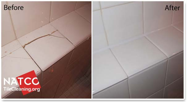 Stunning 40 bathroom tiles repair decorating design of for Cracked bathroom tile repair