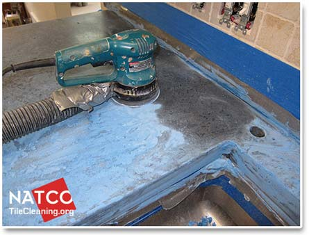How To Polish Seal And Restore A Concrete Countertop