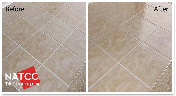 Ceramic Tiles With High Gloss Sealer